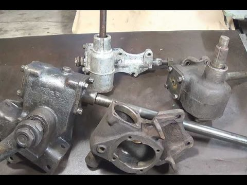 УАЗ - Ремонт рулевой колонки (рулевой редуктор)