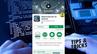 How To Create Your Own Website Using ( Website Builder For Android )