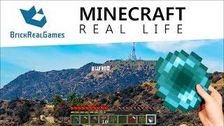 getlinkyoutube.com-Minecraft Real Life - Los Angeles with Ender Pearl - BrickRealGames