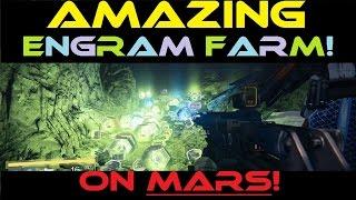 getlinkyoutube.com-Destiny - AMAZING Engram Farm on MARS! (6-10 sec timer)