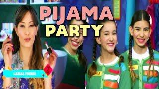 getlinkyoutube.com-Make-up Party en Pijama Party - Maquillarse como Socorro.