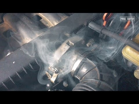 Плохая тяга двигателя и большой расход? Ищем подсосы простым дымогенератором