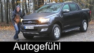 getlinkyoutube.com-Ford Ranger Wildtrak FULL REVIEW test driven all-new neu generation 2017 (Everest/Endeavour)