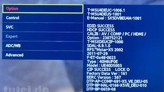 getlinkyoutube.com-Service Menu Secreto TV Samsung - Reset fabrica