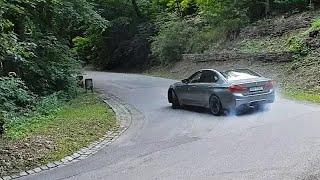 2018 BMW M5: cold start, engine & exhaust sound, driving + drift