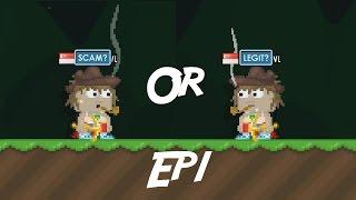 getlinkyoutube.com-Growtopia| SCAM or LEGIT? Ep1 World :T8R