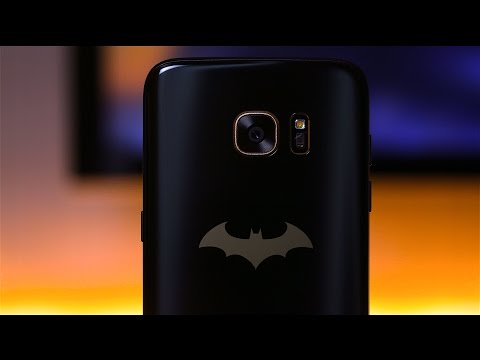 Galaxy S7 Edge Injustice Batman Edition مراجعة جهاز