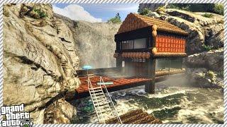 getlinkyoutube.com-BURNING DOWN SECRET LODGE HOUSE (GTA 5 GAMEPLAY)