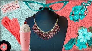 getlinkyoutube.com-DIY Manualidades bisuteria - collares - collar egipcio jade rosa