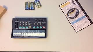 Korg Volca FM Unboxing & Demo