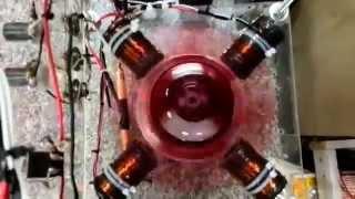 พลังงานแม่เหล็กผลิตไฟฟ้า ธนพัฒน์ เขตสนาน ทดสอบตอน1
