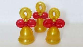 getlinkyoutube.com-Колокольчик из воздушных шаров / Bell of balloons (Subtitles)