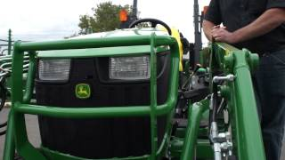 getlinkyoutube.com-John Deere 1025 and its Attachments