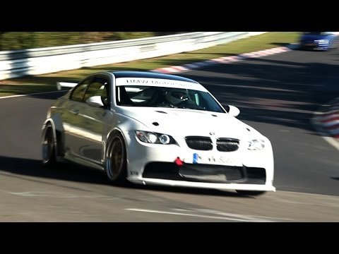 WIDEBODY 600HP BMW M3 E92 and M3 E46! Loud Sounds - 1080p HD