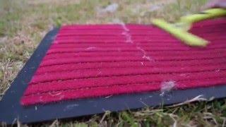 raclette poils tapis