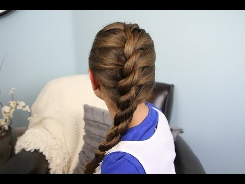 French Twist into Rope Braid | Easy Hairstyles