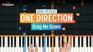 "getlinkyoutube.com-How To Play ""Drag Me Down"" by One Direction 