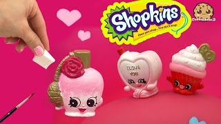 getlinkyoutube.com-DIY Custom Valentines Perfume Bottle SHOPKINS Do It Yourself Painting Craft Toy Video