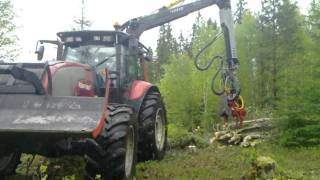 getlinkyoutube.com-Rena Forst AS Valtra XM med Nisula 280
