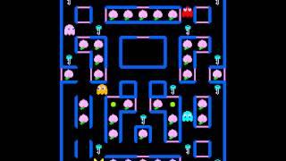 getlinkyoutube.com-Arcade Game: Super Pac-Man (1982 Namco)