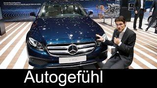 getlinkyoutube.com-REVIEW Exterior/Interior Mercedes E-Class all-new E220d & E350e Plugin-Hybrid Motor Show