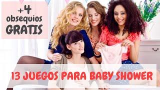 getlinkyoutube.com-13 Juegos para Baby Shower modernos y muy divertidos HD  + 4 Obsequios