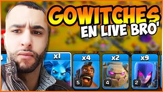 getlinkyoutube.com-3 GOLEMS FULL SORCIERES BERTRAND ! 🍑🎩🔥| CLASH OF CLANS ATTAQUE HDV GDC HDV 9