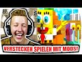 SPONGEBOB SCHWAMMKOPF VERFOLGT MICH! - Minecraft Morph Hide and Seek