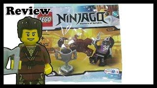 getlinkyoutube.com-Lego 5002144 Ninjago Dareth vs. Nindroid polybag  2015 ninjago figure 레고 닌자고 2015 레고 장난감