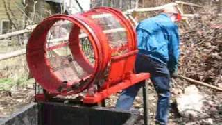 getlinkyoutube.com-HomeMade Rotary Trommel Screen