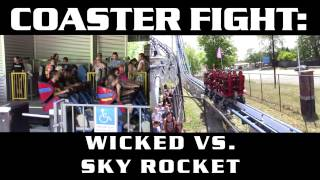 getlinkyoutube.com-Wicked vs. Sky Rocket - COASTER FIGHTS!