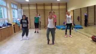 getlinkyoutube.com-OMI CHEERLEADER Zumba Ełk choreografia Paulina Kosmala