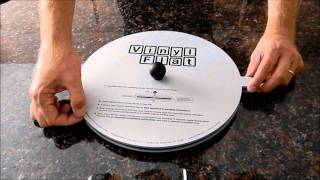 getlinkyoutube.com-Vinyl Flat Record Flattener