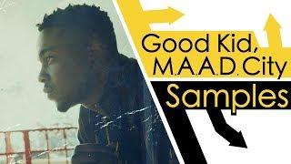 Every Sample On Good Kid Maad City
