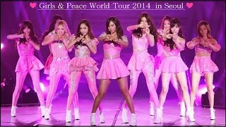 "getlinkyoutube.com-HD [SNSD] 少女時代 / ""Girls & Peace""  World Tour 2013 in Seoul [FULL]"