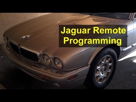 Jaguar key remote control programming and battery replacement, XJ8 XJR - Auto Repair Series