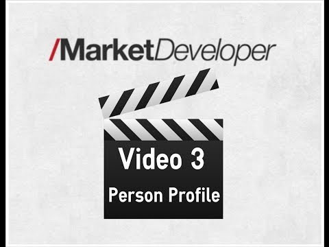 MarketDeveloper Person Profile