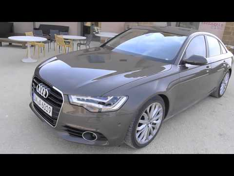 FIRST REVIEW: 2012 Audi A6-BMW 5-Series Beater?