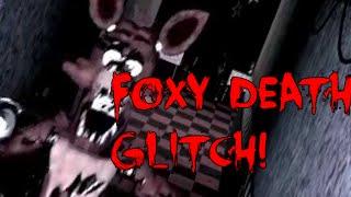 getlinkyoutube.com-Five Night's at Freddy's - Foxy Death Glitch! (Tutorial!!!) - STILL WORKS!