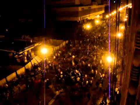 Egypt protests: diplomat's car runs over more than 20 people in Cairo (28 Jan 2011)