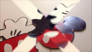 getlinkyoutube.com-Mickey Centro de mesa para mesa principal