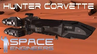 getlinkyoutube.com-Space Engineers Spotlight - 'Hunter Corvette' By Damoran