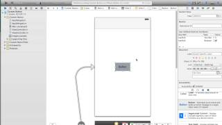 getlinkyoutube.com-How to make a round button in iOS 7 using Xcode 5