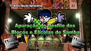Carnapádua 2016 - Apuração do Desfile dos Blocos e Escolas de Samba