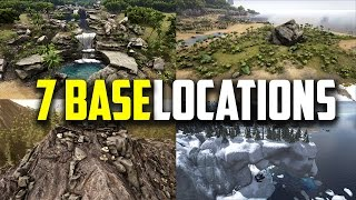 getlinkyoutube.com-7 Great places to build your base! ARK Survival Evolved