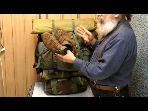 Survival Bags Part 1 - Bug Out Bags, His & Hers (New Version)