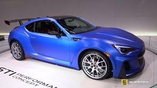 getlinkyoutube.com-Subaru BRZ STI Performance Concept - Exterior Walkaround - Debut at 2015 New York Auto Show