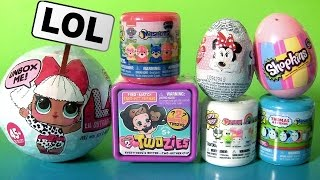getlinkyoutube.com-TOY SURPRISES LOL DOLLS TWOZIES BABY Mashems Fashems Shopkins by FUNTOYS