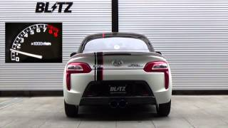 getlinkyoutube.com-BLITZ / NUR-SPEC C-Ti Center Dual LA400K DAIHATSU COPEN ROBE EXHAUST SOUND