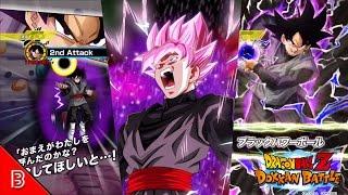 getlinkyoutube.com-BLACK GOKU in Dokkan Battle Gameplay | NUKING 2 MILLION Damage!